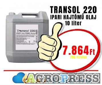 Transol 220 Ipari Hajtómű Olaj 10 Liter 7.864Ft!!!!