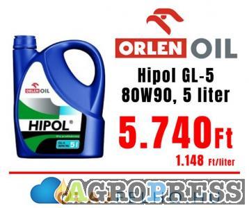 Orlen Oil Hipol GL-5 80W90 5l
